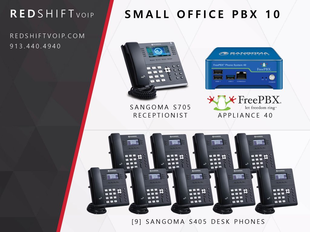 Small Office PBX 10 – Redshift VoIP